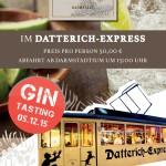 Veranstaltungstipp: Gin Tasting im Darmstädter Datterich-Express