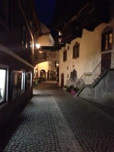 Das Auracher Löchl in der Altstadt von Kufstein