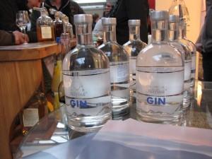 Hans-Gerhard Finks Premium-Gin Serie Albfink auf der Finest Spirits 2014