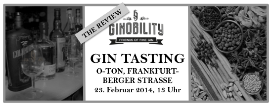 Ginobility Tasting Review