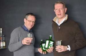 Die beiden Macher des Clouds Gin - Andreas Kloke & Lorenz Humbel