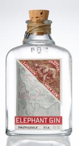 Elephant Gin Flasche - Design bis ins kleinste Detail