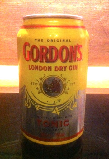 Gordon's London Dry Gin and Tonic - fertig gemixt in der Dose