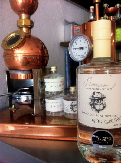 "Simon's Bavarian Pure Still Pot Gin ""Next Level"""