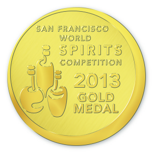 Greyling Modern Dry Gins' Gold Medal from SFWSC 2013