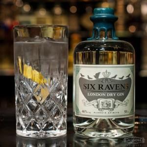 Gin&Tonic mit Six Ravens