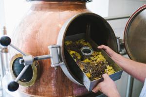 Das Herzstück von Ferdinand's Saar Dry Gin