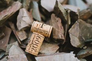 Nur eine der vielen Anspielungen Ferdinand's an das Saarland - Der Weinkorken